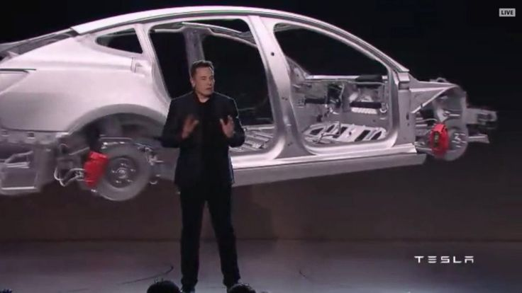 Now Playing: Tesla to unveil semi-truck and pick-up truck       Now Playing: Tesla passes GM as most valuable automaker in the US       Now Playing: Tesla announces low-cost car rollout ahead of schedule       Now Playing: Fourth of July steals and deals       Now Playing: Amazon 'Prime... - #Ahead, #Announces, #Car, #Lowcost, #Rollout, #Schedule, #Tesla, #TopStories