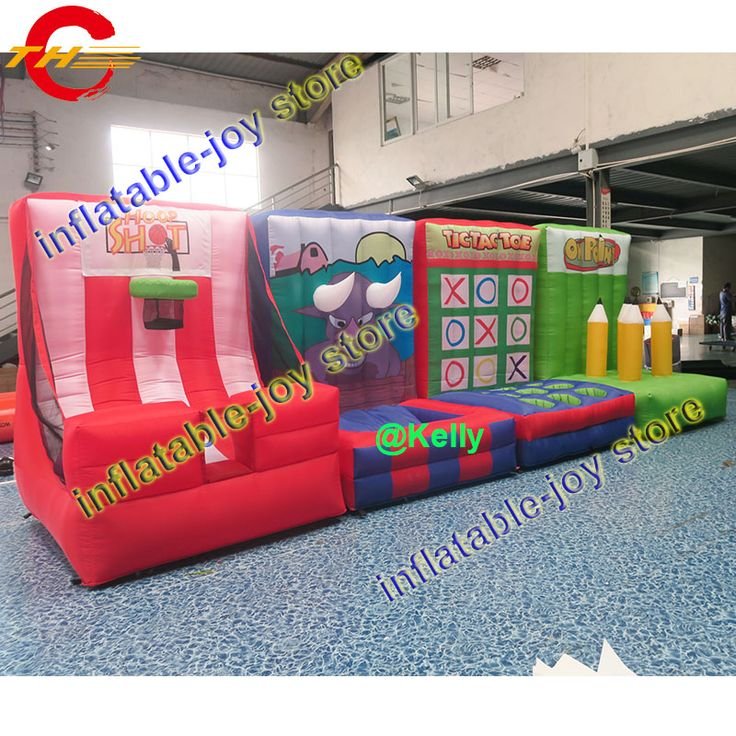 Cheap inflatable games, Buy Quality inflatable games for sale directly from China inflatable games sale Suppliers: Free air shipping 4 in 1 inflatable sport game, carnival inflatable games for sale, basketball, hoopla, tic tac toe funny games