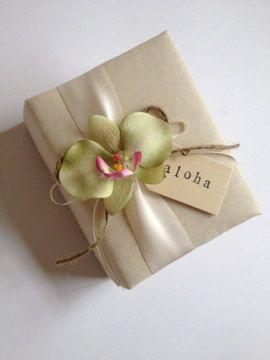 Wedding Gifts For Hawaii : Hawaiian Wedding Photo AlbumTropical Green Phalaenopsis Orchid ...