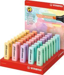 STABILO Surligneur BOSS ORIGINAL Pastel, présentoir de 40