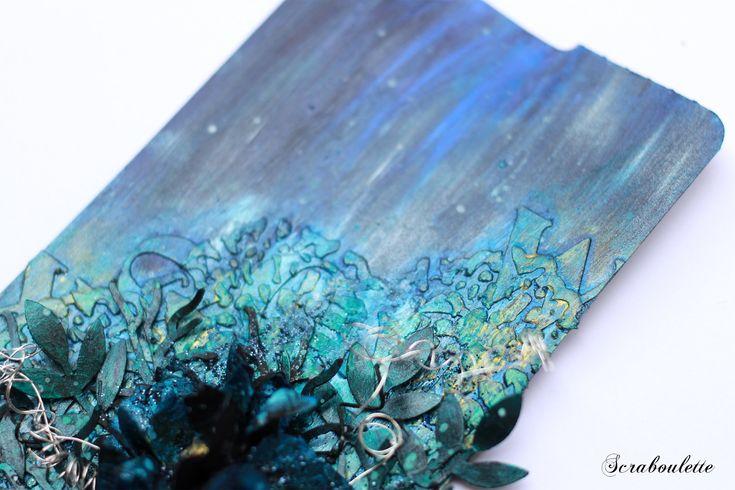 Make a tag #2 : Using black gesso | Inspirational Art ...
