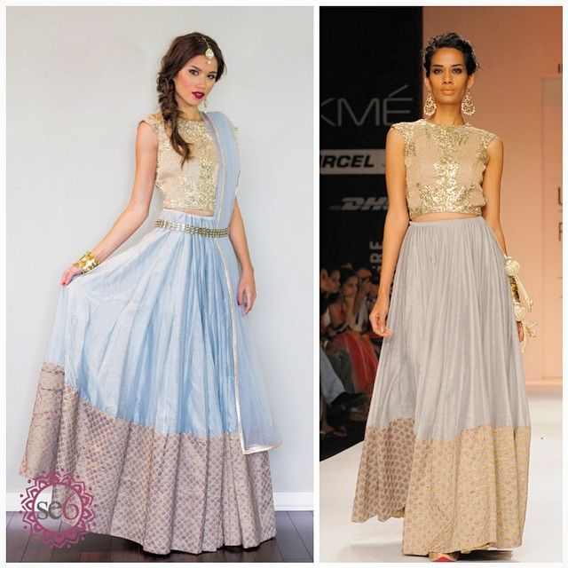Payal Singhal designs to make you glow on your wedding day! Studio East6 loves this piece   #IndianBride #IndianCouture #Runway #StudioEast6   www.studioeast6.com