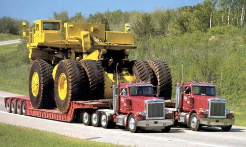 pictures of big oversized rig loads | Oversize Load | Heavy Haulers