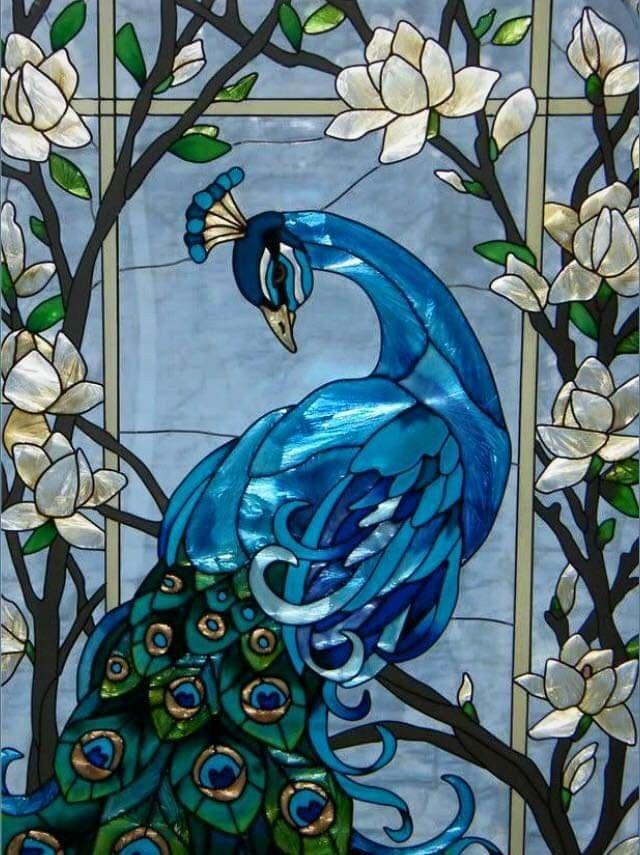 pinarlette lang on fenster  türen  stained glass