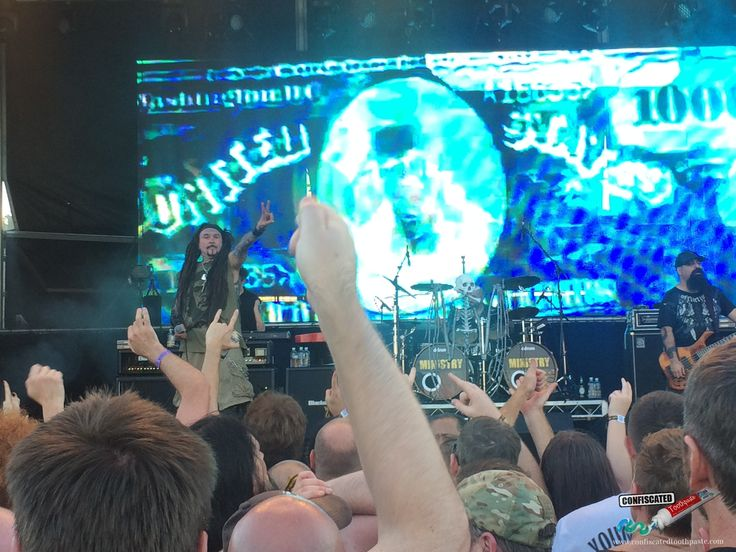 Ministry. The 2015 Soundwave Music Festival in Sydney  --> http://www.confiscatedtoothpaste.com/the-2015-soundwave-music-festival-in-sydney/