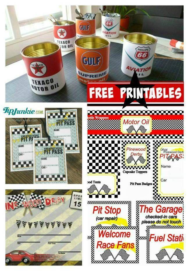 Pinewood Derby Free Printables-jpg