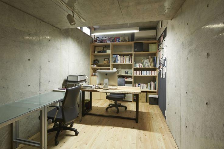 書斎事例:オフィス(前川の住宅)