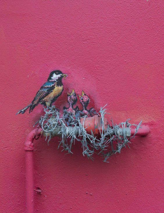 Street art byErnest Zacharevic: