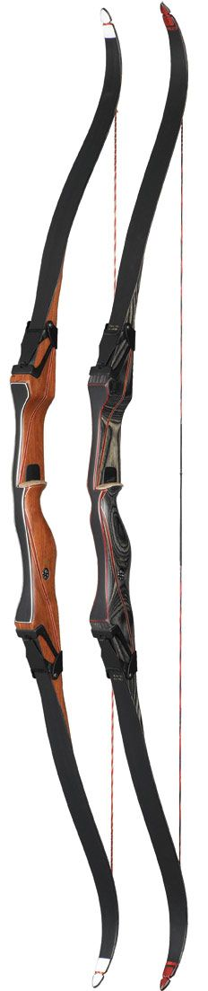 Fred Bear Takedown Recurve.  Like this, wonder if my recurve 2nd hand is this brand