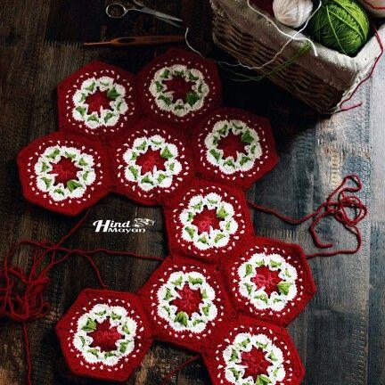 Cathkidston crochet motif