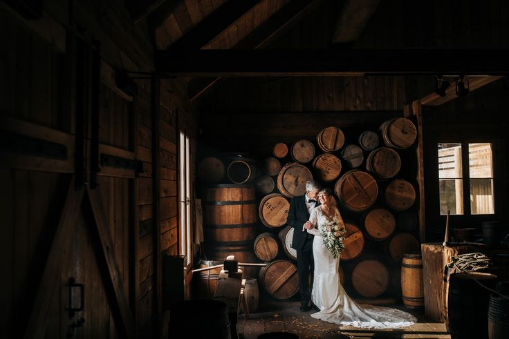 Fort langley wedding photos in winery near vancouver