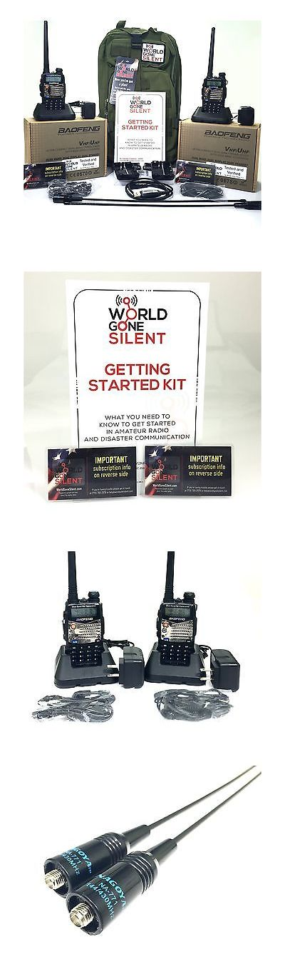 Ham Radio Receivers: Prepper S Ham Radio Deluxe Kit - (Two Radios Accessories And Instruction To G... -> BUY IT NOW ONLY: $401.22 on eBay!