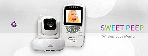 Infant video monitor with wireless camera Live Sense
