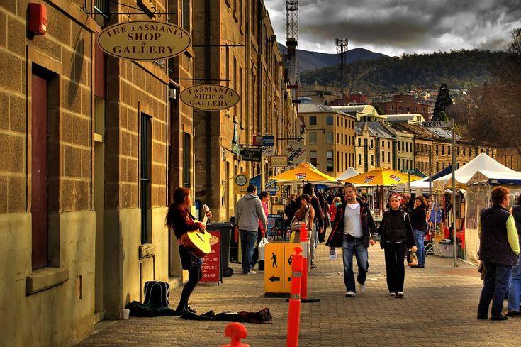 Hobart, Tasmania, Australia.   A place I used to call home!