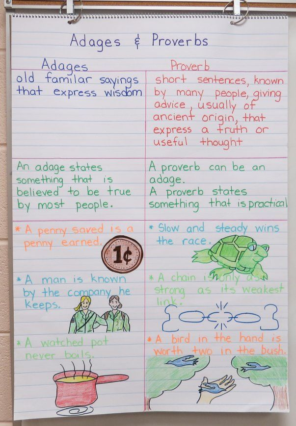 Anchor Charts with FREE teaching materials