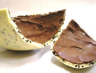 Recheio Mania: Ovo de Páscoa Branco crocante