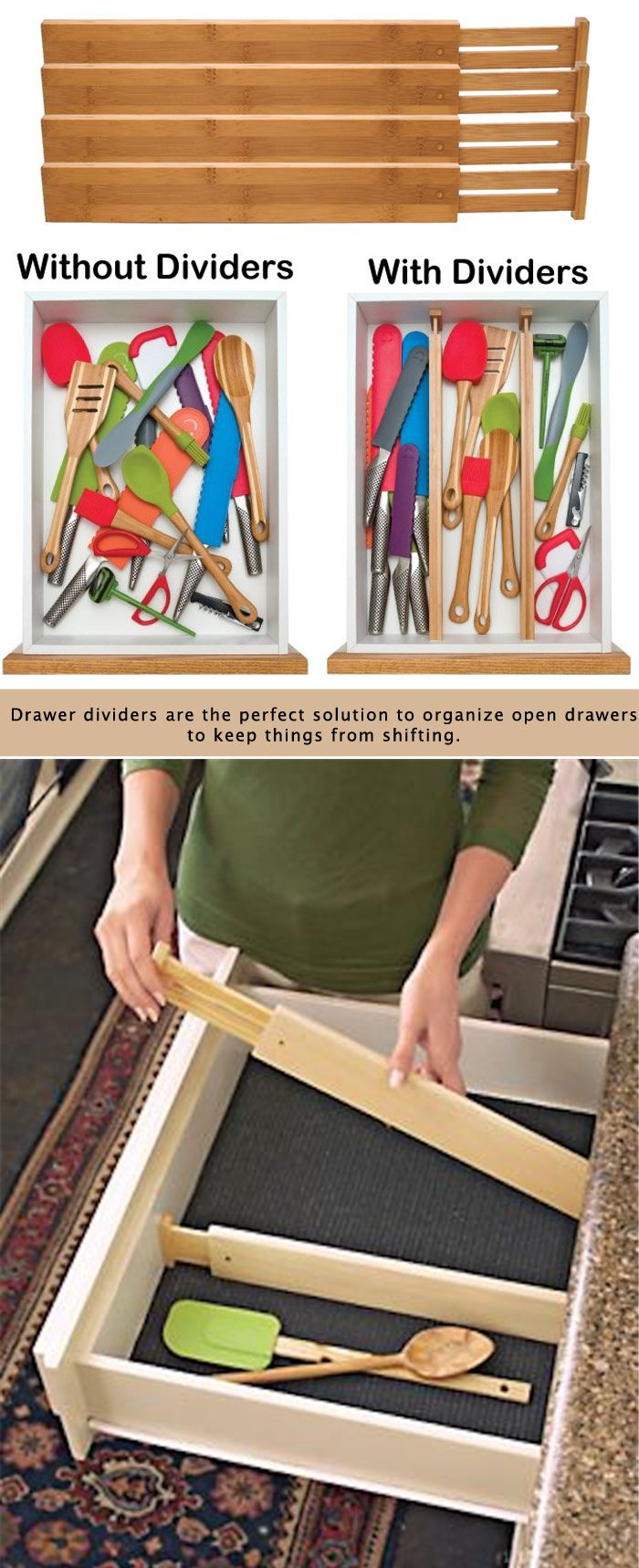 Diy Kitchen Drawer Dividers The 25 Best Ideas About Kitchen Drawer Dividers On Pinterest