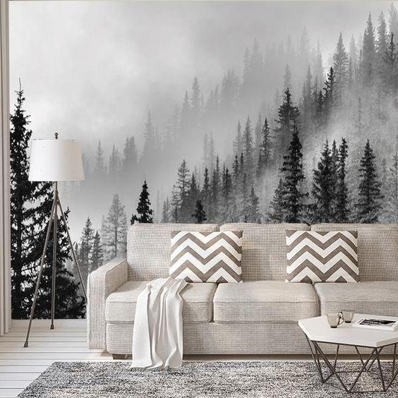 25 + › Enchanted Forest – Fototapete – Wallpaper