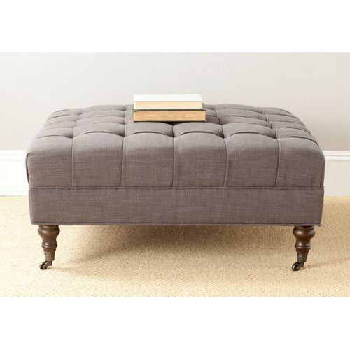 Found it at Joss & Main - Holsey Tufted Cocktail Ottoman
