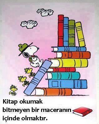 Kitap okumak..