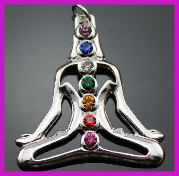 From the Mother Earth Collection  Chakra Pendant Necklaces $10