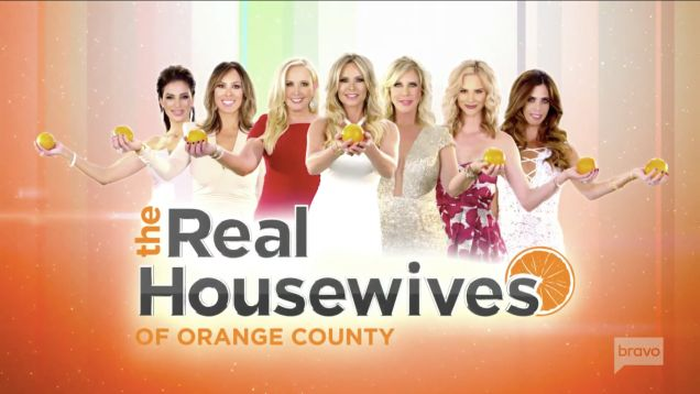 The brand new Real Housewives of Orange County Tag Lines Are One Of The Worst We've Heard