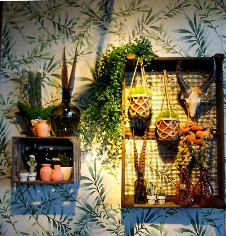 Meer dan 1000 idee n over veren behang op pinterest ster behang muurschilderingen en - Decoratie interieur trap schilderij ...