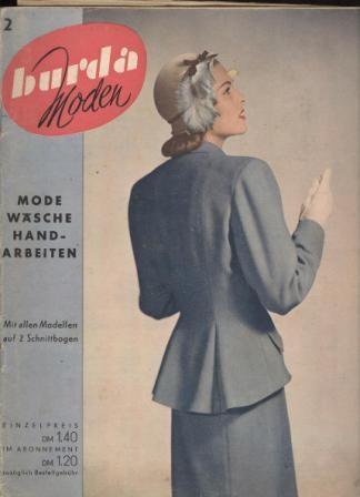 КОЛЛЕКЦИЯ журналов BURDA MODEN за 1950-1988 годы / Журнал BURDA MODEN / Библиотека / МОДНЫЕ СТРАНИЧКИ