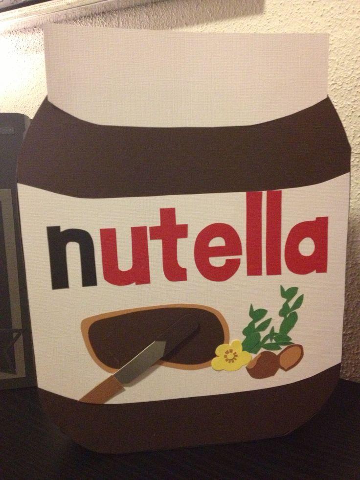 Nutella glas som sangskjuler