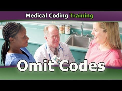 Omit Codes    Click here to get more cpc exam tips, coding certification training, and ceu credits.    More CPC Exam Tips and Updates at http://www.CpcMedicalCodingCertificationExamPrep.org