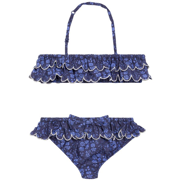 FW15 Cruise Collection - blue swimsuit