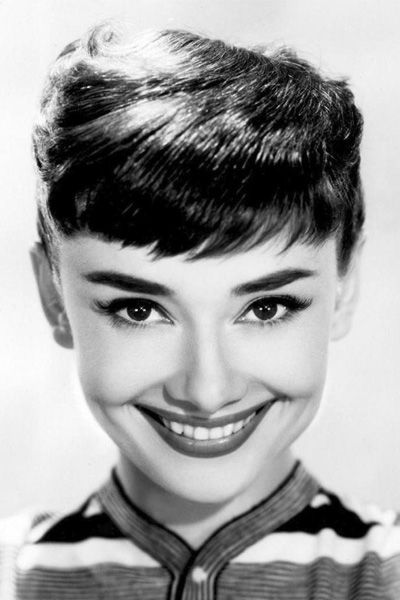 Audrey Hepburn Beautiful Smile With White Teeth Audrey