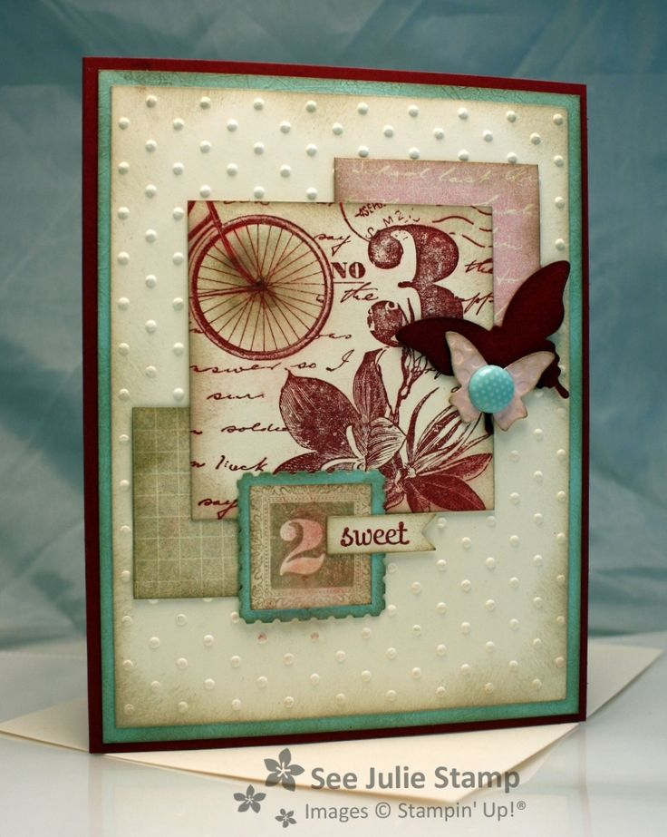 See Julie Stamp - Julie Wadlinger, Stampin' Up! Demonstrator : Postage Due - FabFri10 - SFF011813