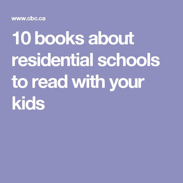 10 books about residential schools to read with your kids