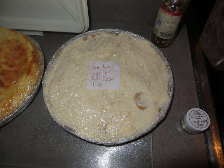Jon Snow pie