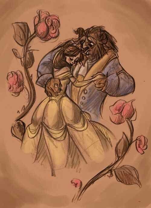 Beauty and the Beast! My fav Disney movie