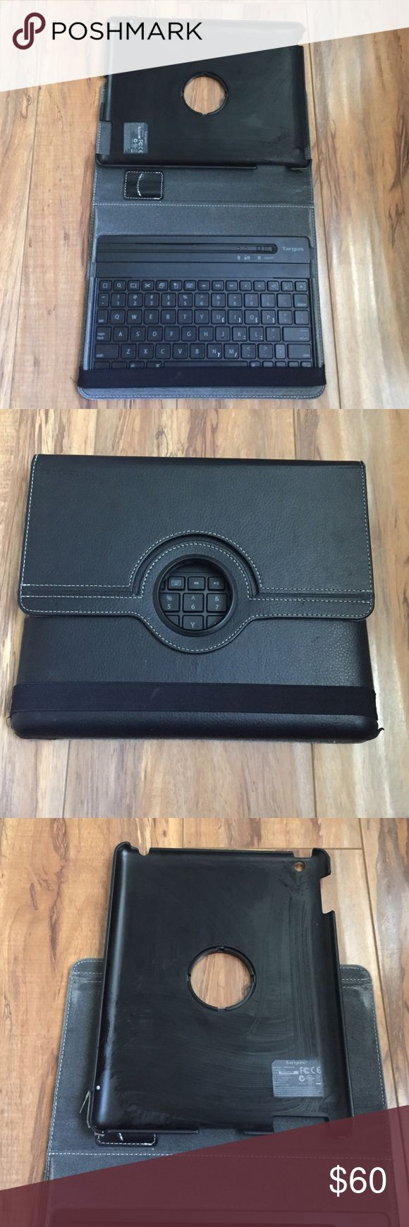 iPad 4th generation case holder/keyboard in one! iPad 4th generation case holder/keyboard in one! Gently used, good condition... keyboard works perfectly *NOTE* charger for keyboard NOT included Targus  Other
