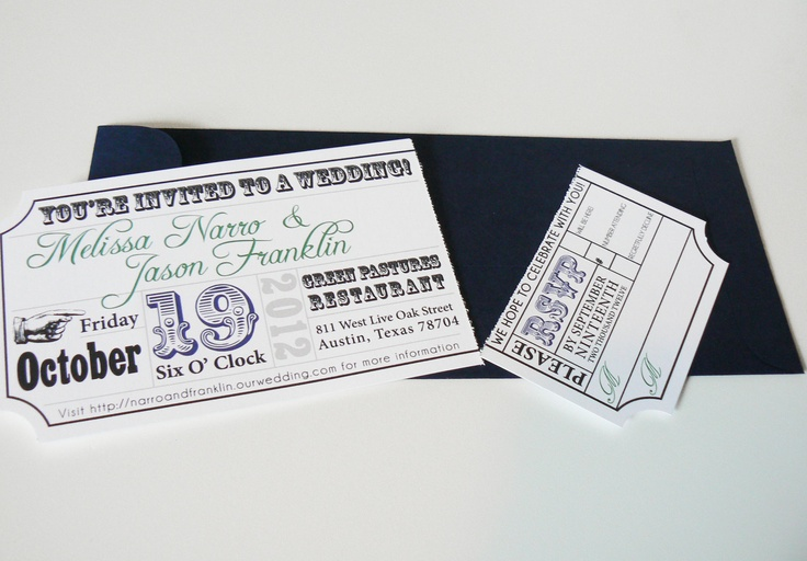 Movie Ticket Wedding Invitations is one of our best ideas you might choose for invitation design
