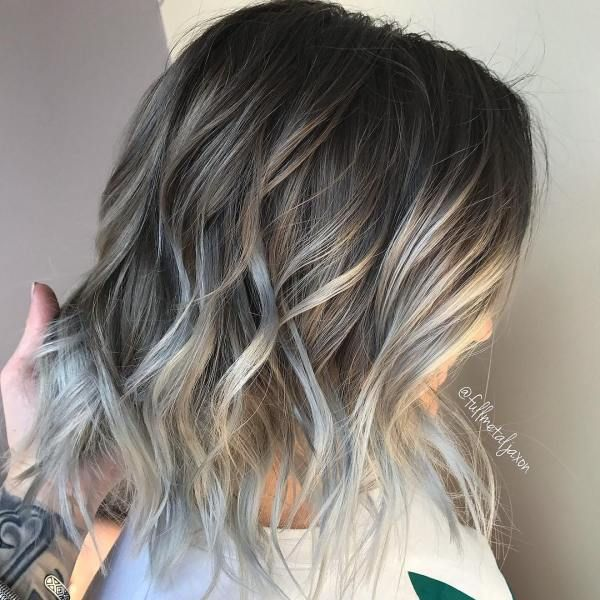 60 Shades Of Grey: Silver And White Highlights For Eternal