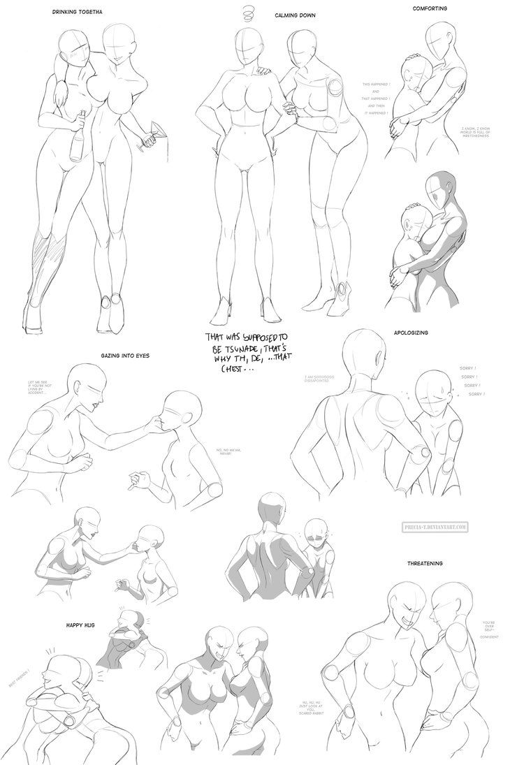 Drawing Female Body Poses 74 Best Pose Study - Female ...