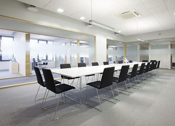 "GIRTEKA office   Architects: Architecture studio ""Plazma""; Furniture: Narbutas Furniture Company   Archinect"
