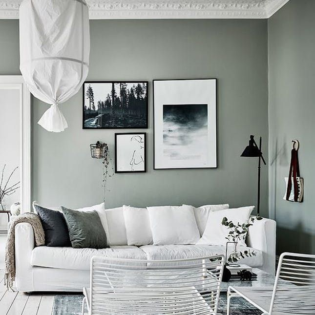 Sage Is The New Gray Green Walls Living Room Sage Green Living Room Grey Walls Living Room