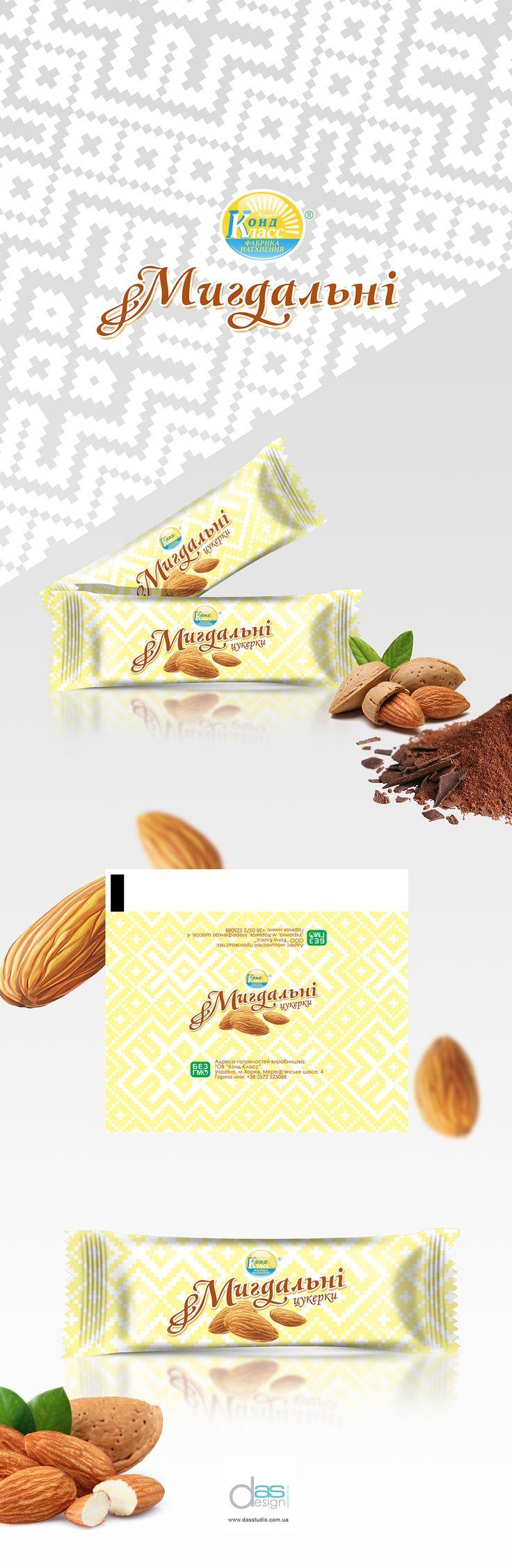 Packaging design candy Mindalnaya on Behance