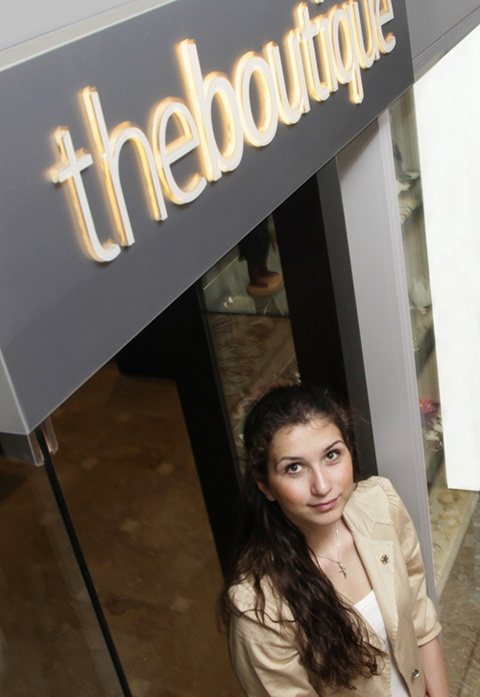 Ioanna Georgiadou | Boutique Sales Manager  @ http://www.eaglespalace.gr/