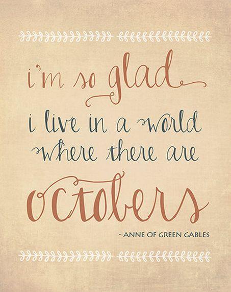 Octobers ❥