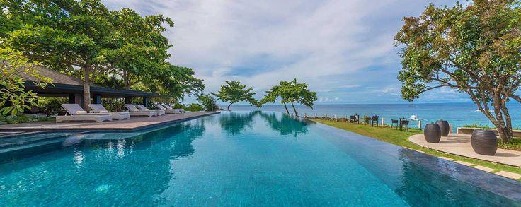 Home Page Infinity pool, Amorita Resort, Panglao Bohol
