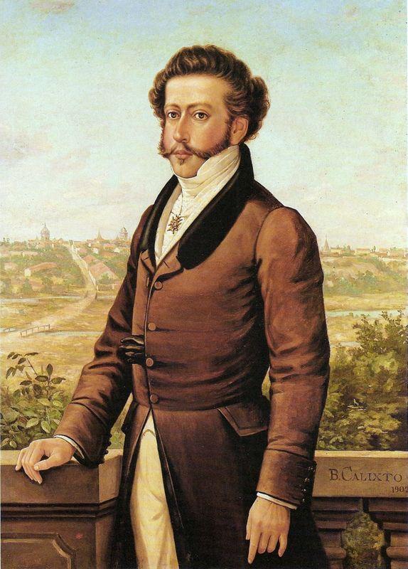 Dom Pedro I, o Libertador do Brasil ( Queluz, 1798 – Queluz, 1834) Primeiro…                                                                                                                                                                                 Mais