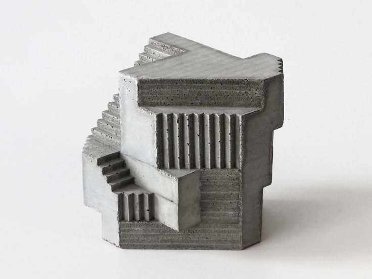 Concrete Sculptures By David Umemoto