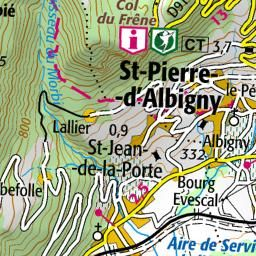 Rando VTT : Trace GPS de randonnee Pontcharra - St Maximin