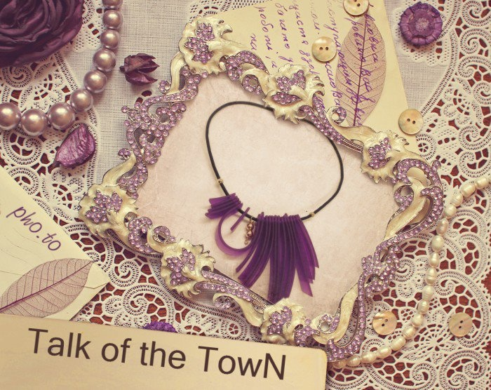 TALK of the TOWN page - purses & more. www.facebook.com/... #Talk_of_the_town #handmade #fashion_accessorize #necklace